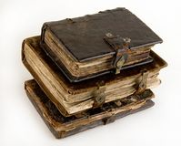 The ancient books Royalty Free Stock Photography
