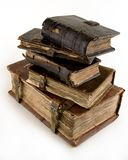 The ancient books Stock Photo