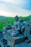 Ancient Borobudur Buddhist Temple Royalty Free Stock Images