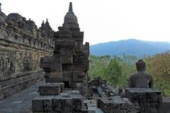 Ancient Borobudur Buddhist Temple Stock Image