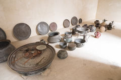 Ancient bowls Stock Photography