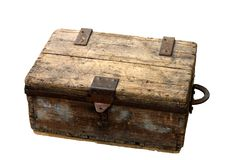 Ancient box Stock Photo