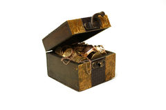 Ancient box Stock Images