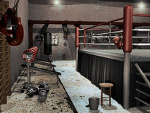 Free Ancient Boxing Club Stock Photography - 15531042