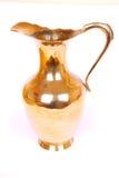Ancient brass jug Stock Photo