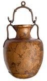 Ancient brass jug stock photos