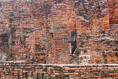 Ancient brick background Royalty Free Stock Photography