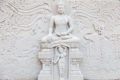 Ancient brick carving art of Buddha Royalty Free Stock Photo
