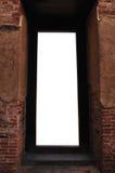 Ancient brick door Stock Images