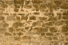 Ancient brick wall Stock Photos
