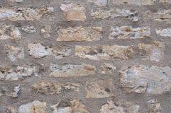 Ancient brick wall. Royalty Free Stock Images