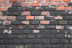 Ancient brick wall architectural background texture Stock Image