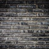 Ancient brick wall Royalty Free Stock Photos