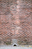 Ancient brick wall Royalty Free Stock Images
