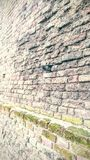 Ancient brick wall Stock Photography