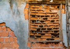 Ancient brick wall Stock Photo