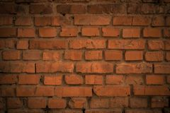 An old brick wall. royalty free stock images
