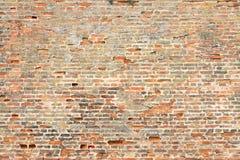 Ancient brick wall surface Stock Images