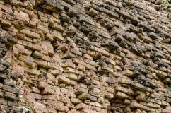 Ancient brick wall Stock Image