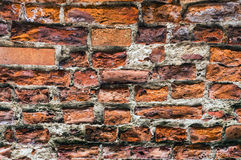 Ancient brick wall. Stock Photo