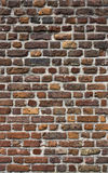 Ancient brick wall texture Stock Photography