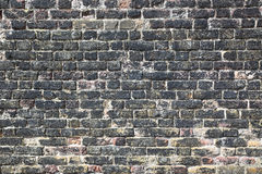 Ancient brick wall in Tower of London castle, London - UK Stock Photography