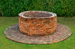 The Ancient brick well Stock Photography