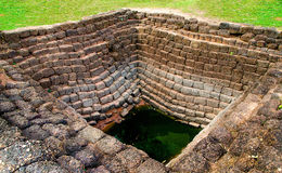 Ancient brick well Royalty Free Stock Photos