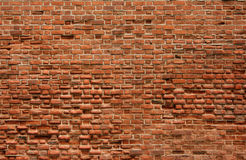 Ancient, a bricklaying of a wall. Ancient, red, a bricklaying of a wall of a fortress royalty free stock photo
