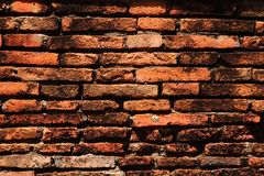 Ancient Bricks Wall Stock Photography