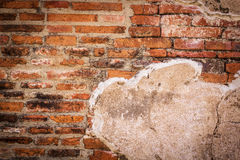 Ancient bricks wall,background Royalty Free Stock Photo