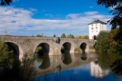 The ancient bridge. Royalty Free Stock Photo