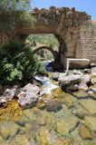 Ancient bridge at Afqa, Lebanon Stock Photos