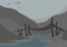 Ancient bridge Stock Photos