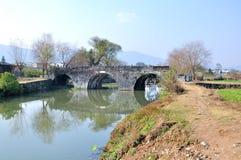 The ancient bridge Stock Images