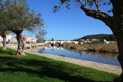 Ancient bridge in Silves Royalty Free Stock Image