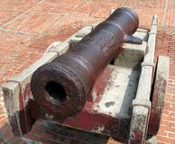 Ancient Bronze Cannon Stock Photos
