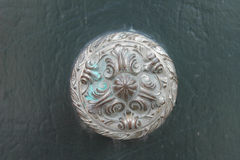 Ancient Bronze Doorknob Detail Royalty Free Stock Image