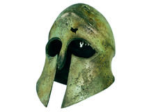 Ancient Bronze Helmet Royalty Free Stock Images