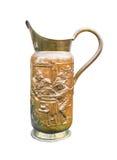 Ancient bronze jug Stock Images