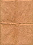 Ancient brown paper surface texture Stock Images