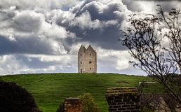 Ancient Bruton Dovecote on the hill top in Jubilee Park, Bruton, Somerset, UK