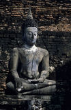 Ancient Buddha Stock Photography