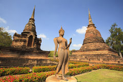 The ancient buddha Royalty Free Stock Image