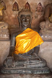 Ancient Buddha Royalty Free Stock Photography