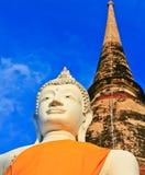 Ancient buddha Royalty Free Stock Photography