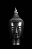 Ancient Buddha Artifact. An ancient Buddha artifact, on black background Royalty Free Stock Photos
