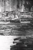 Ancient buddha. In Ayutthaya, Thailand Stock Image