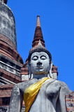 Ancient Buddha. Ayutthaya, Thailand Stock Photo
