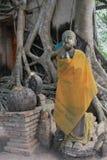 Ancient Buddha at Bangkung Temple Stock Images